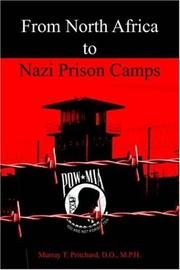 Cover of: From North Africa to Nazi Prison Camps | Murray T. Pritchard