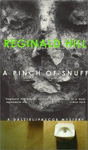 Cover of: A pinch of snuff