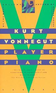 Cover of: Player piano