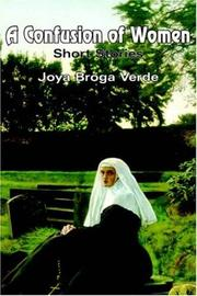 Cover of: A Confusion of Women | Joya Broga Verde