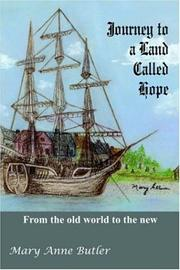 Cover of: Journey to a Land Called Hope
