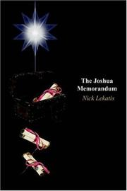 Cover of: The Joshua Memorandum