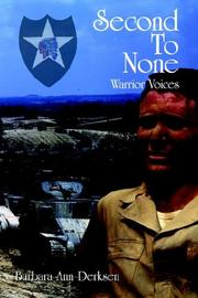 Cover of: Second To None