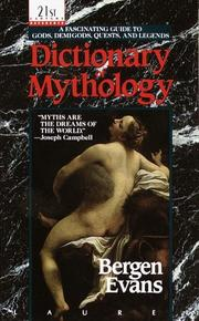 Cover of: Dictionary of Mythology