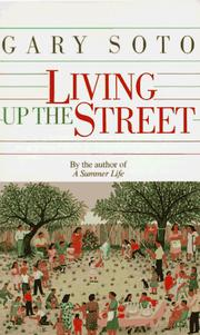 Cover of: Living Up The Street | Gary Soto