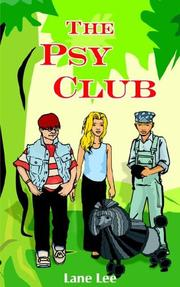 Cover of: The Psy Club | Lane Lee
