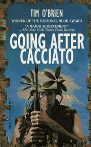 Cover of: Going after Cacciato | Tim O