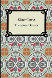 Cover of: Sister Carrie |