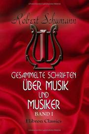 Prose works by Robert Schumann