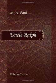 Cover of: Uncle Ralph | Margaret Agnes Paul