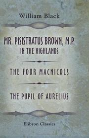Cover of: Mr Pisistratus Brown, M.P. in the highlands