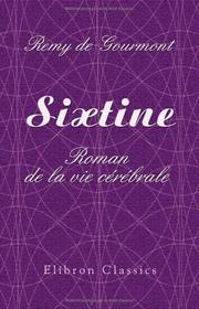 Cover of: Sixtine