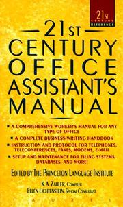 Cover of: 21ST Century Office Assistant