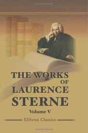 Cover of: The Works of Laurence Sterne