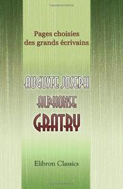 Cover of: Pages choisies des grands écrivains