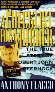 Cover of: A Checklist for Murder | Anthony Flacco