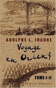 Cover of: Voyage en Orient: tome 1-2