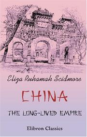 Cover of: China: the Long-Lived Empire