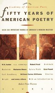 Cover of: Fifty Years of American Poetry | Academy of American Poets.