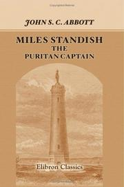 Cover of: Miles Standish, the Puritan Captain: Series