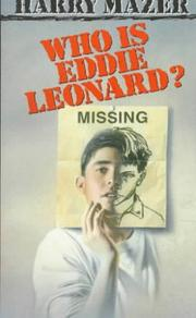 Cover of: Who Is Eddie Leonard? (Laurel-Leaf Books)