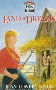 Cover of: Land of Dreams (Ellis Island) | Joan Lowery Nixon