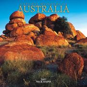 Cover of: Natural Wonders of Australia 2007 Calendar | Nick Rains