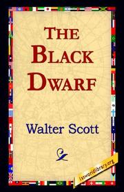 Cover of: The Black Dwarf | Sir Walter Scott