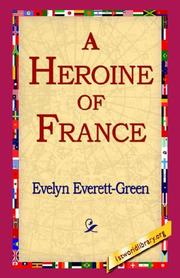 Cover of: A Heroine of France