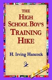 Cover of: The High School Boys' Training Hike