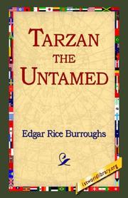 Cover of: Tarzan the Untamed | Edgar Rice Burroughs
