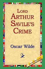 Cover of: Lord Arthur Savile