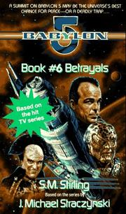 Cover of: Betrayals (Babylon 5, Book 6)