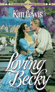 Cover of: Loving Becky