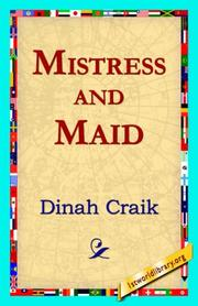 Cover of: Mistress and Maid