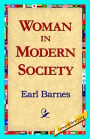 Cover of: Woman in Modern Society | Earl Barnes