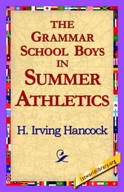 Cover of: The Grammar School Boys in Summer Athletics