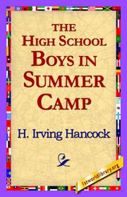 Cover of: The High School Boys in Summer Camp