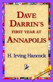Cover of: Dave Darrin's First Year at Annapolis
