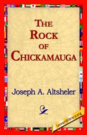 Cover of: The Rock of Chickamauga
