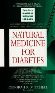 Cover of: Natural medicine for diabetes