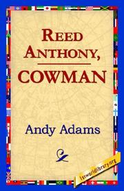 Cover of: Reed Anthony, Cowman