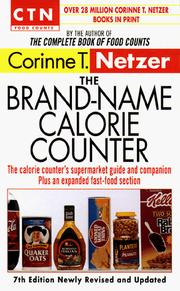 The brand-name calorie counter by Corinne T. Netzer