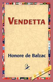 Cover of: Vendetta