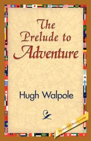 Cover of: The Prelude to Adventure