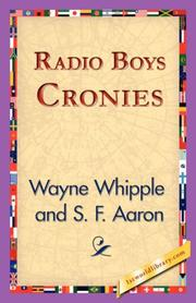 Cover of: Radio Boys Cronies
