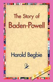Cover of: The Story of Baden-Powell
