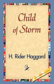 Cover of: Child of Storm | H. Rider Haggard