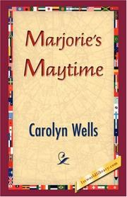 Cover of: Marjorie's Maytime