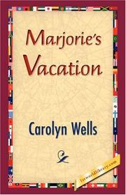 Cover of: Marjorie's Vacation